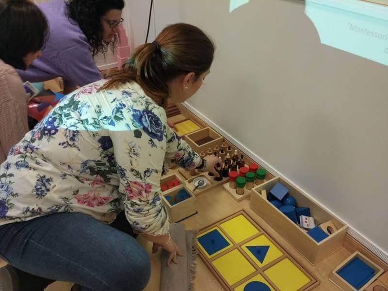 Taller Montessori con Marta
