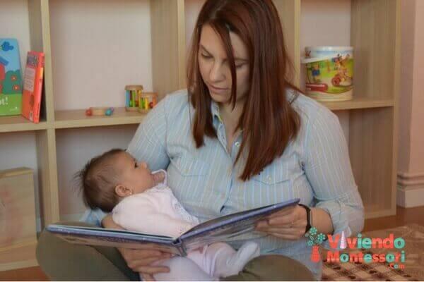 Actividades Montessori - Lectura de libros