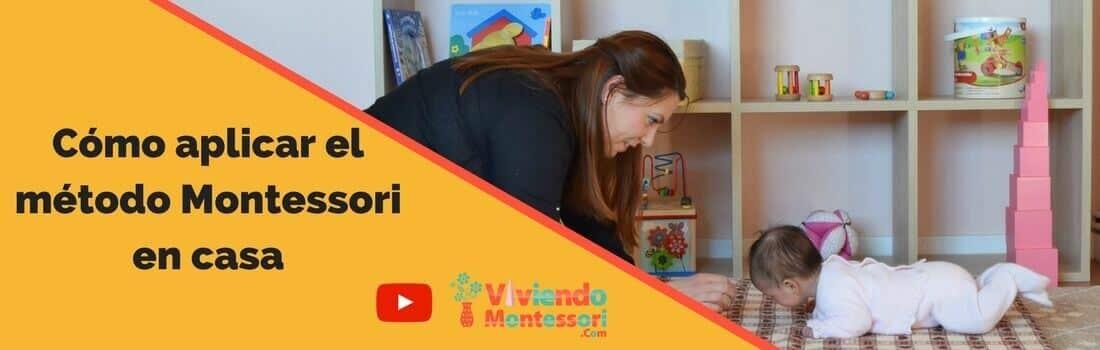 Aplicar el método Montessori en casa
