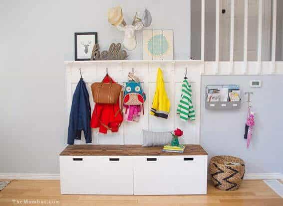 Entrada con el método Montessori en casa