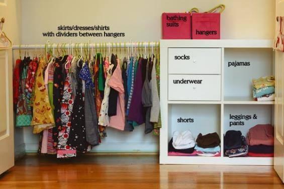 Dormitorio adaptado al método Montessori en casa