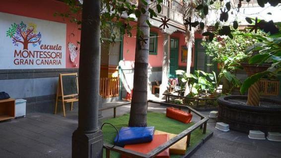 Jardin apropiado para el método Montessori en casa