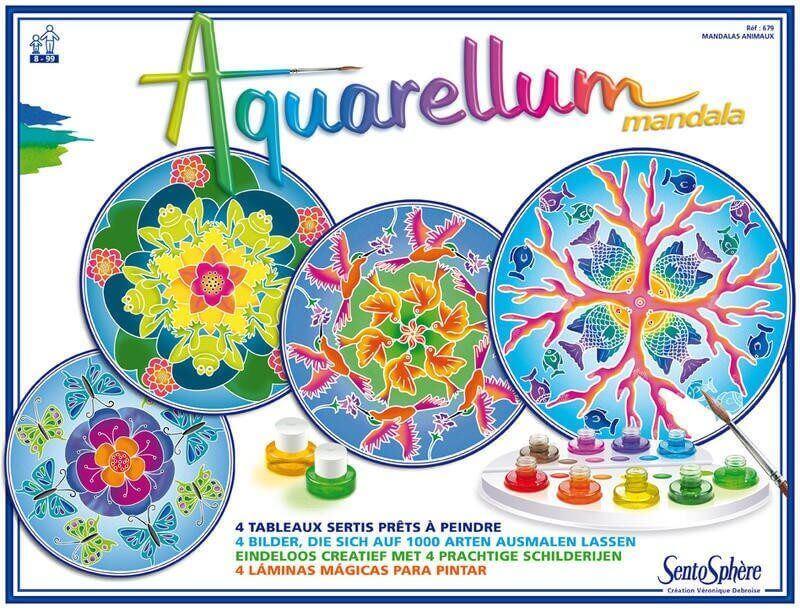 Aquarellum mandala