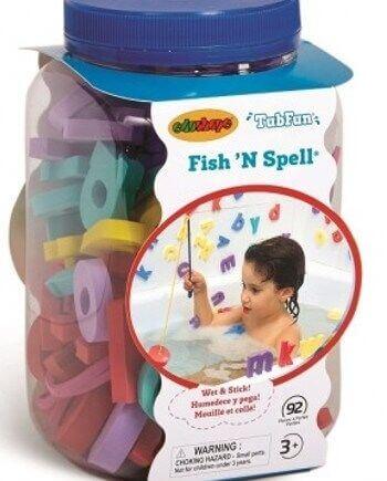 Juego de pesca en la bañera