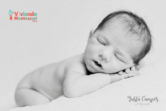 Una sesión de fotos newborm puede ser un regalo muy original para un bebé