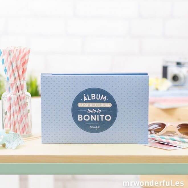 álbum de bebé