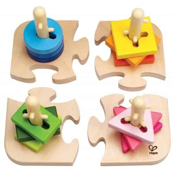 Puzzle apilable de motricidad
