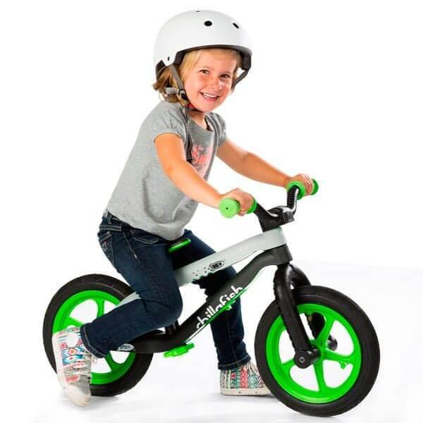 Bicicleta sin pedales bmxie balancebike blue