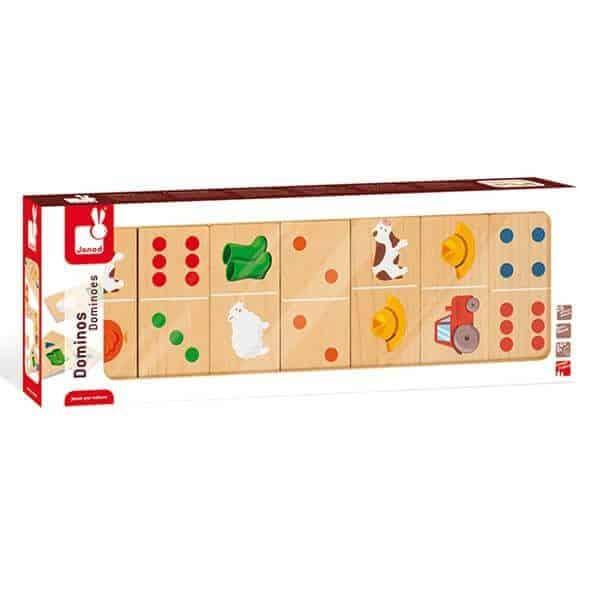 domino granja 28 piezas