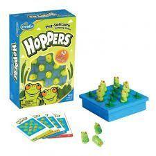 hoppers juego de lógica