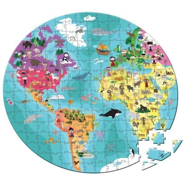 maleta-puzzle-208-piezas-ninos-y-animales-del-mundo