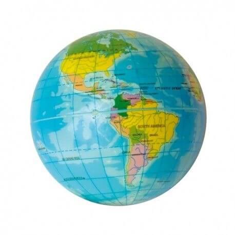 pelota blanda planeta tierra