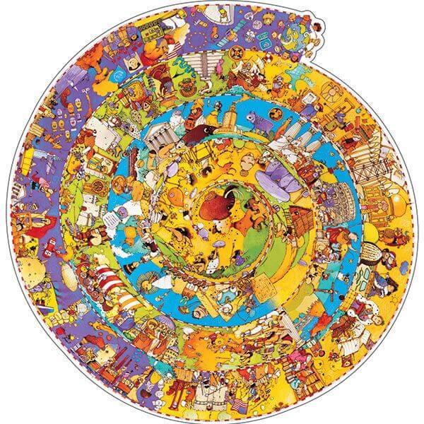 puzzle de la historia del hombre 350 piezas