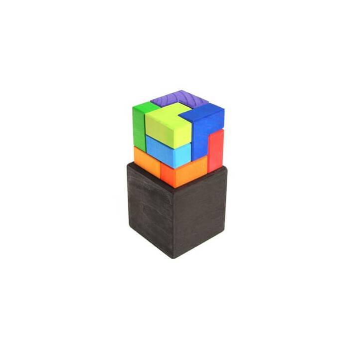 puzzle creativo winkelwurfel cubo de ángulos rectos