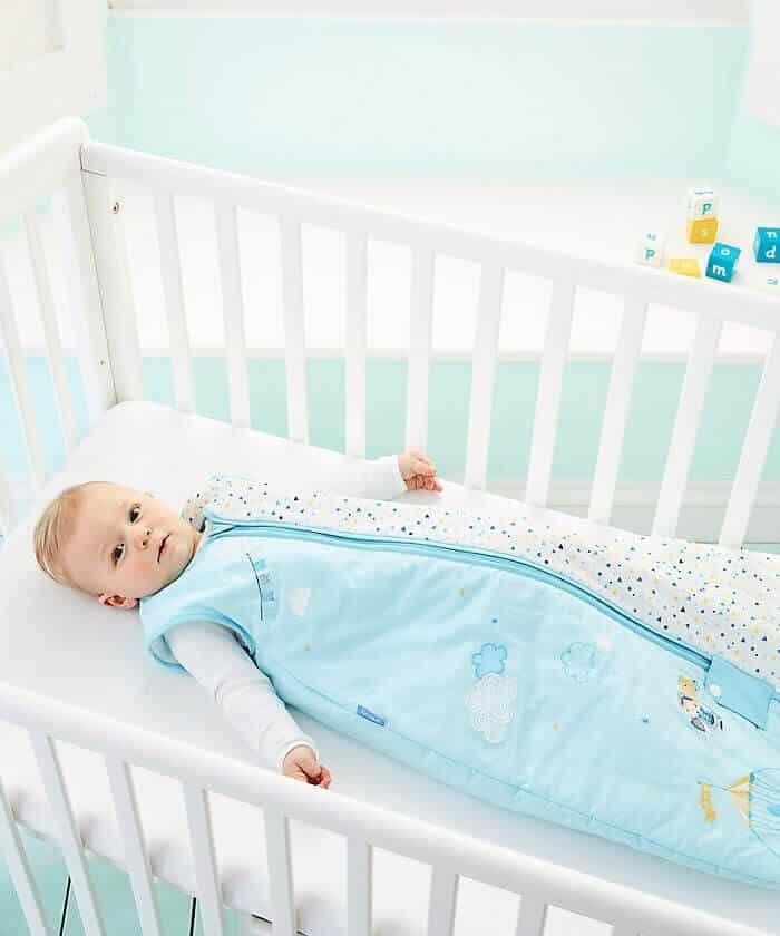 Un saco de dormir para un bebe