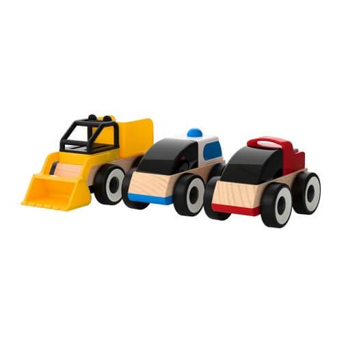 vehículos de madera
