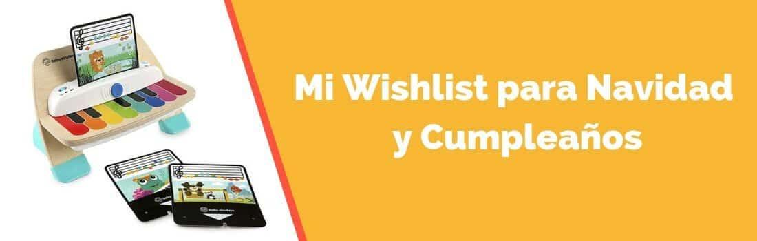 Wishlist para Navidad y Cumpleaños