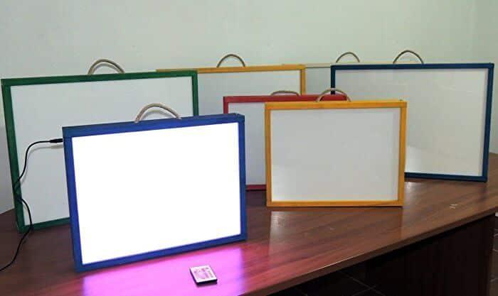 mesas de luz portatiles