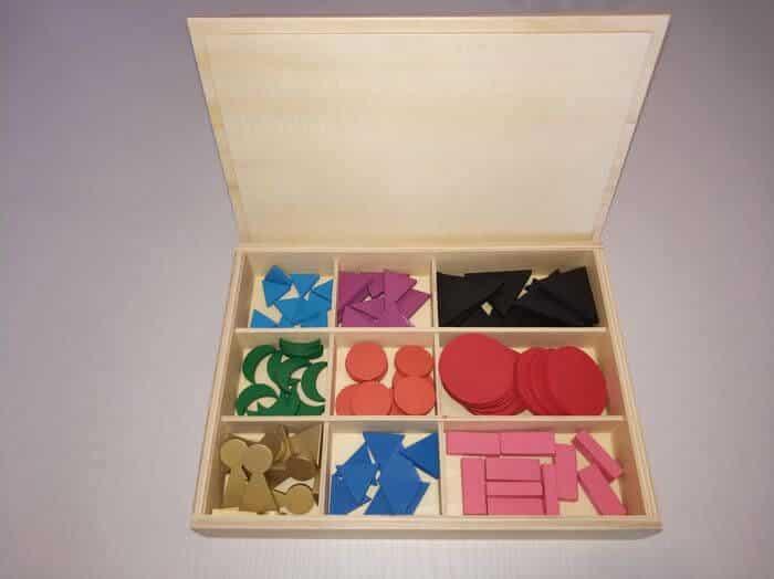 Material Gramática Montessori