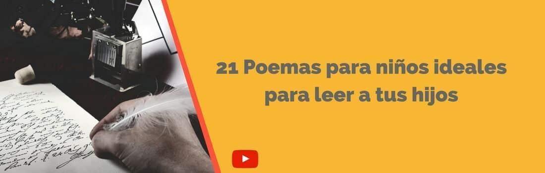 21 Poemas Para Niños Ideales Para Leer A Tus Hijos