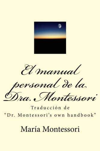 Libro El manual personal de la doctora Montessori