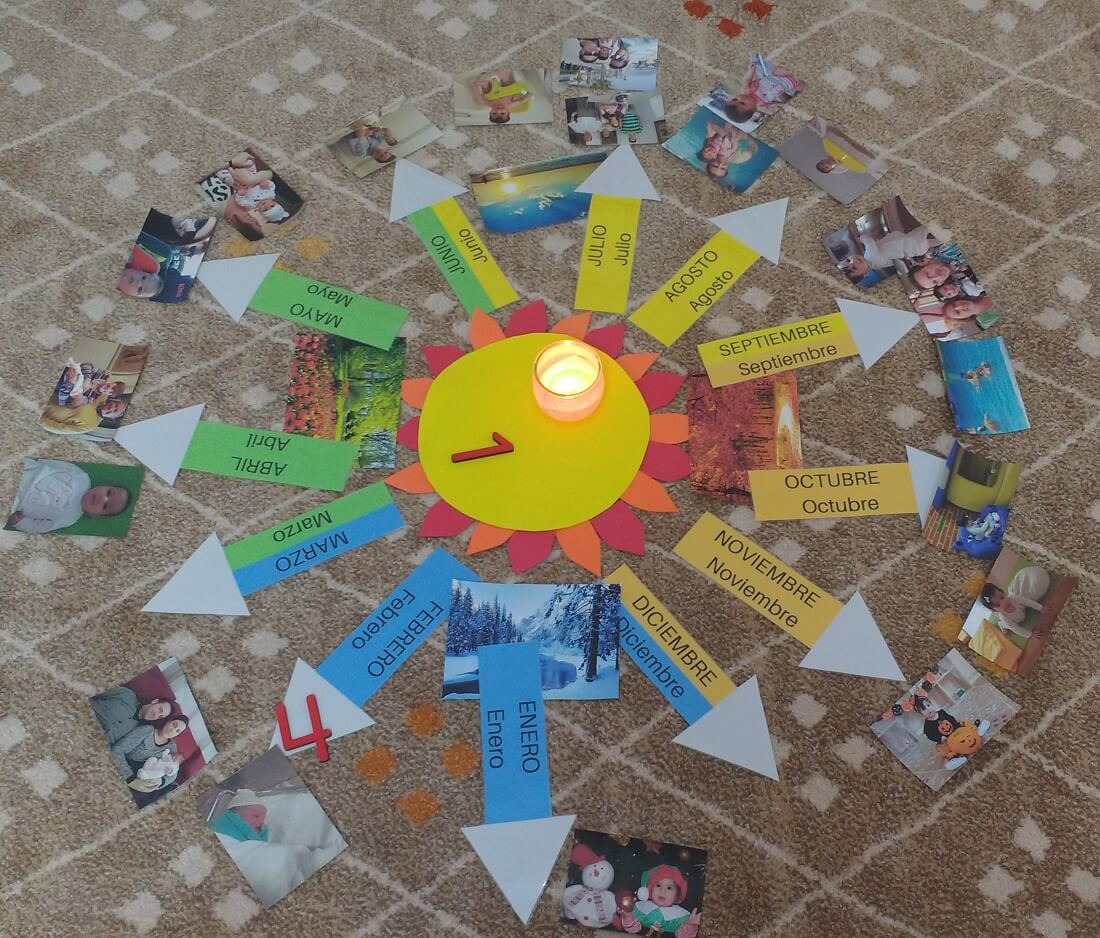 Cumpleaños Montessori