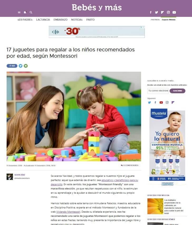 Bebés y más montessori