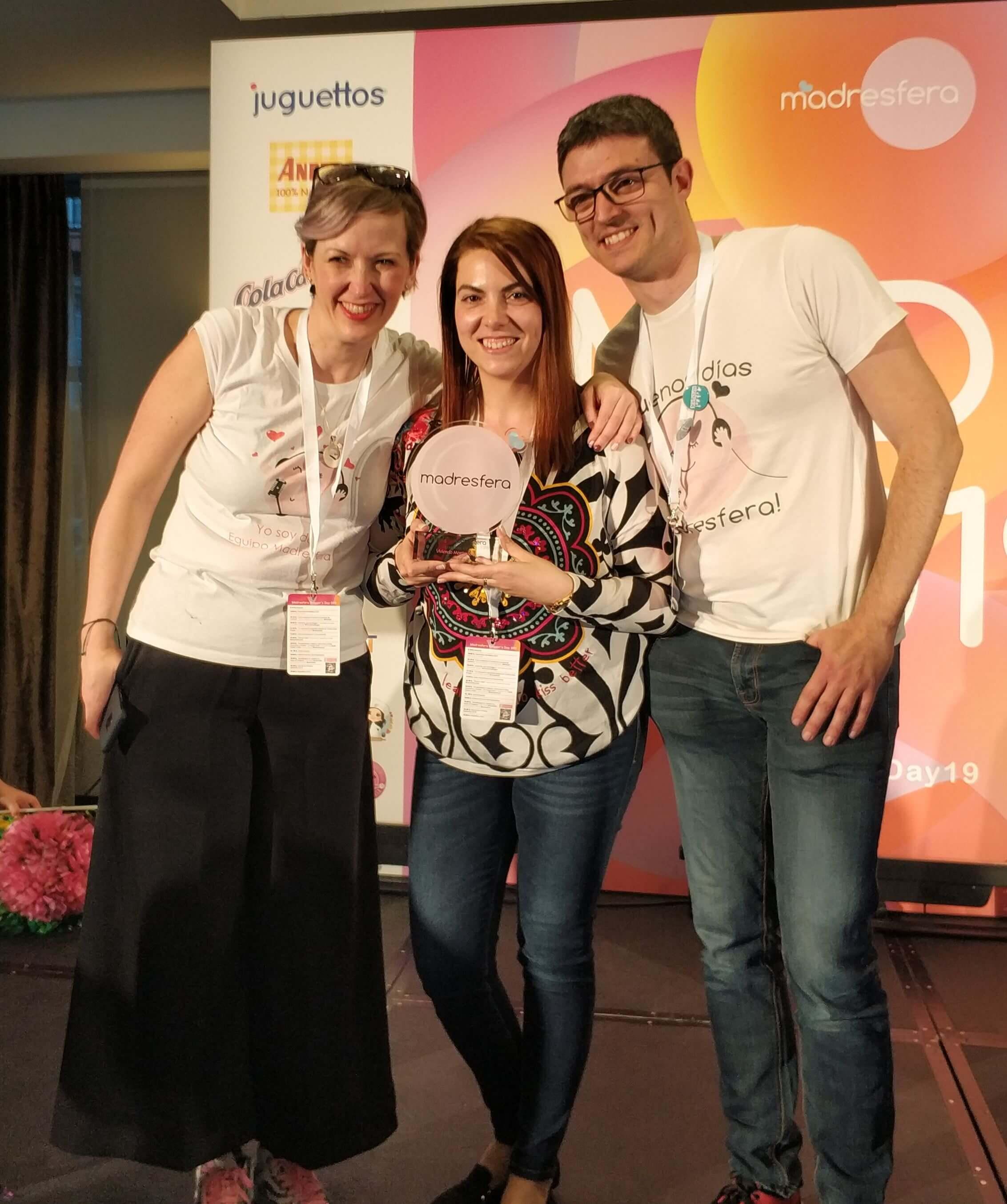 Entrega premio Madresfera 2018