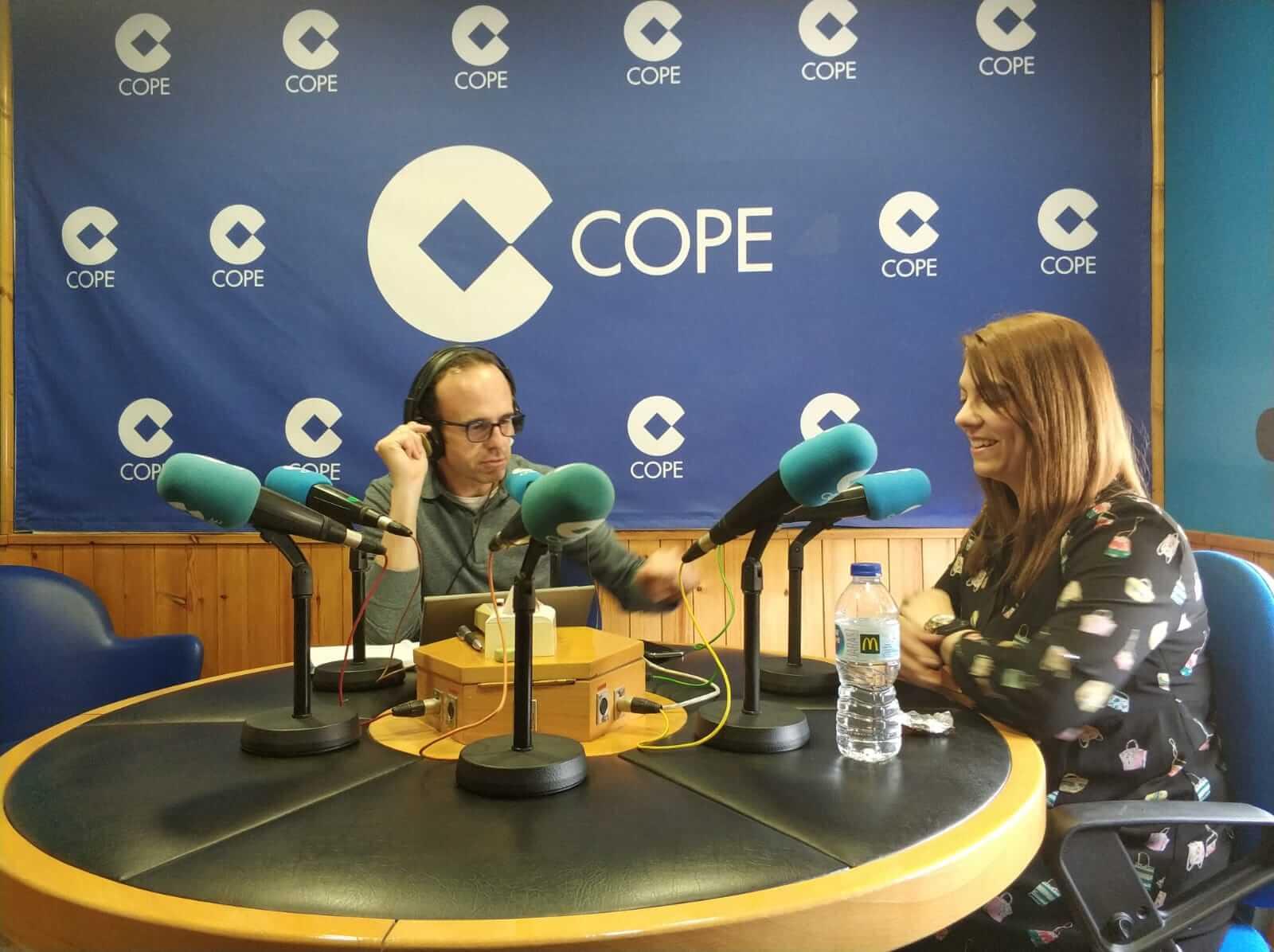 Entrevista en Cope Albacete - Almudena Palacios