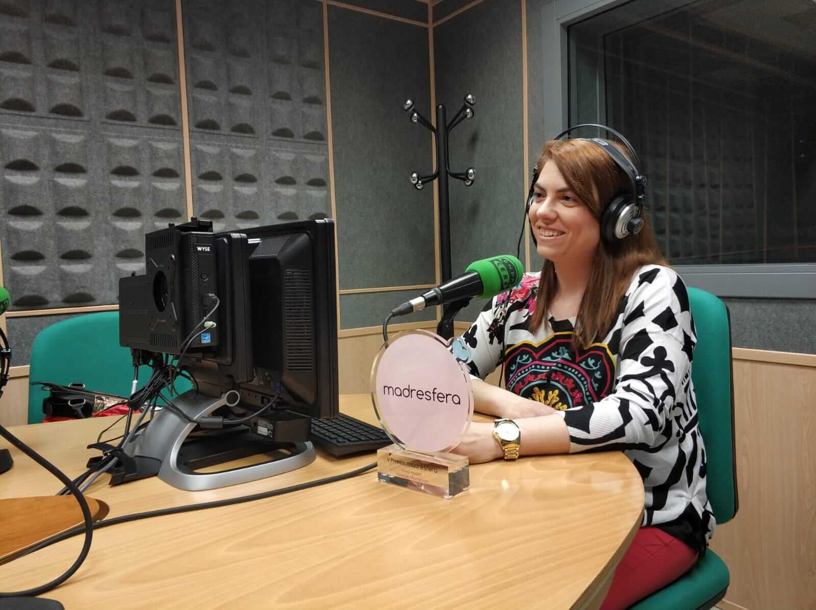Almudena Palacios en Onda Cero Albacete
