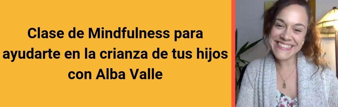 Clase de Mindfulness con Alba Valle