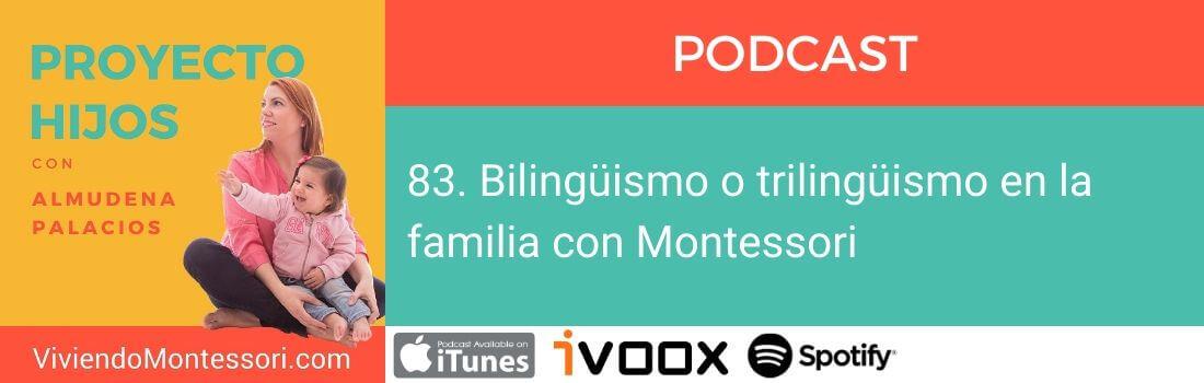 Bilingüismo o trilingüismo con Montessori
