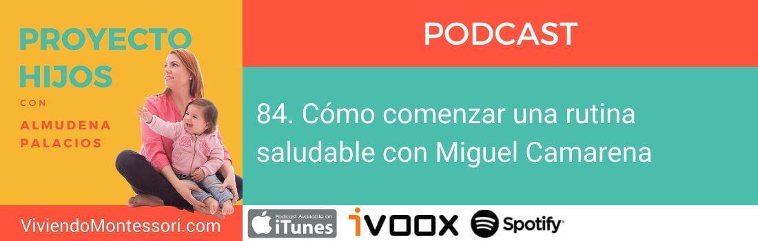 rutina saludable con Miguel Camarena